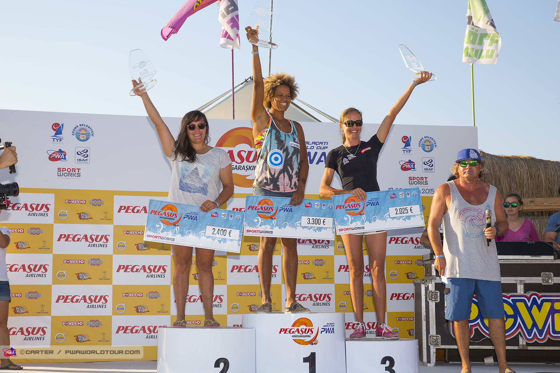Marion Mortefon 2nd in Alacati